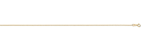 Yellow Gold Diamond Cut Trace Chain TGC-CN0502