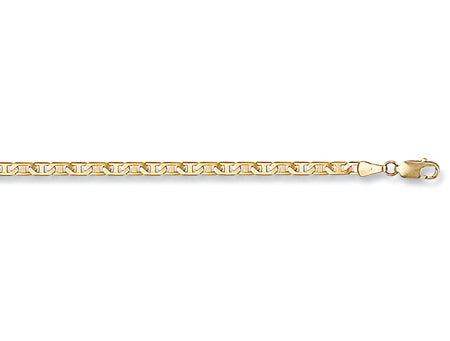 Yellow Gold Flat Anchor Chain TGC-CN0059-BB