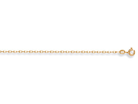 Yellow Gold Diamond Cut Belcher Chain TGC-CN0063