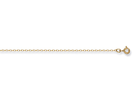 Yellow Gold Open Diamond Cut Belcher Chain TGC-CN0099