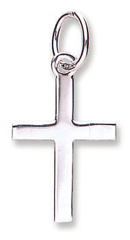 White Gold Cross TGC-CX0190