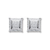 18ct White Gold 0.25ct Diamond Stud Earrings TGC-DER0196