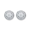 18ct White Gold 0.50ct Diamond Stud Earrings  TGC-DER0212