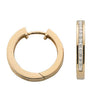 9ct Yellow Gold 0.50ct Diamond Hoop Earrings TGC-DER0039