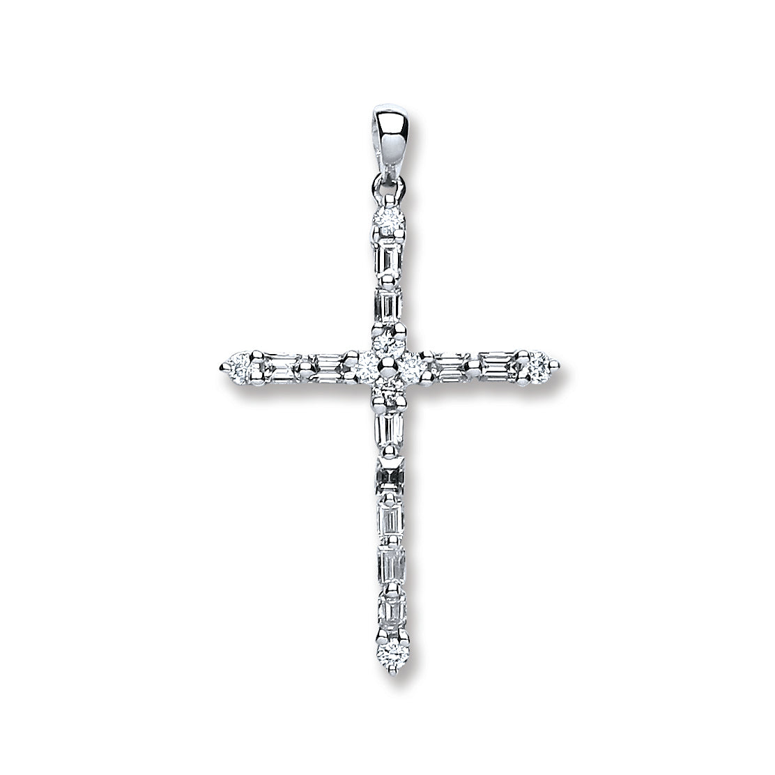18ct white gold 044ct diamond cross pendant tgc dpd0382 gold 18ct white gold 044ct diamond cross pendant tgc dpd0382 mozeypictures Gallery