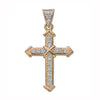 9ct Yellow Gold 0.18ct Diamond Cross TGC-DPD0012