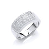 9ct White Goldd 0.50ct Diamond Ring TGC-DR0311