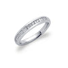 18ct White Gold 0.33ctw Diamond Eternity Ring TGC-DR0675
