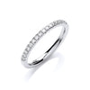 18ct White Gold 0.20ct Ring TGC-DR0890