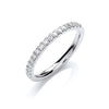 18ct White Gold 0.25ct Ring TGC-DR0895