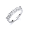 18ct White Gold 1.00ct Diamond Ring TGC-DR0918