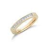 18ct Yellow Gold 0.50ctw Princess Cut Diamond Eternity Ring TGC-DR0001