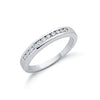 9ct White Gold 0.25ctw Diamond Eternity Ring TGC-DR0304