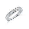Platinum 1.00ct G/H-Vs Diamond Eternity Ring TGC-DR0641