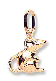 Yellow Gold Mouse Pendant TGC-PD0616