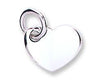 White Gold Heart Pendant TGC-PD0623