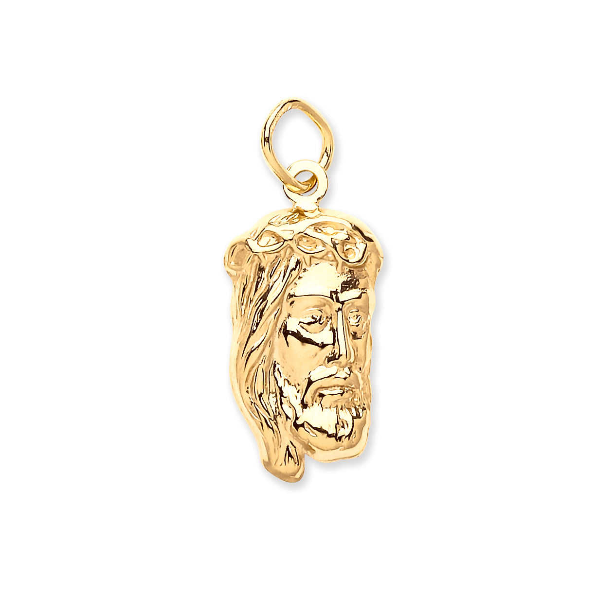 mini products micro small pendant gold piece diamond jesus