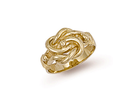 Yellow Gold Knot Ring TGC-R0100