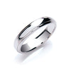 4mm Court Track Edge Wedding Band TGC-WR0043