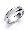 6mm Court Mill Grain Wedding Band TGC-WR0063