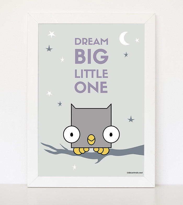 Dream Big Little One (nursery)