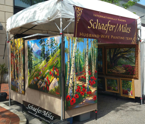Summer 2018 Colorado Art Festival Tour