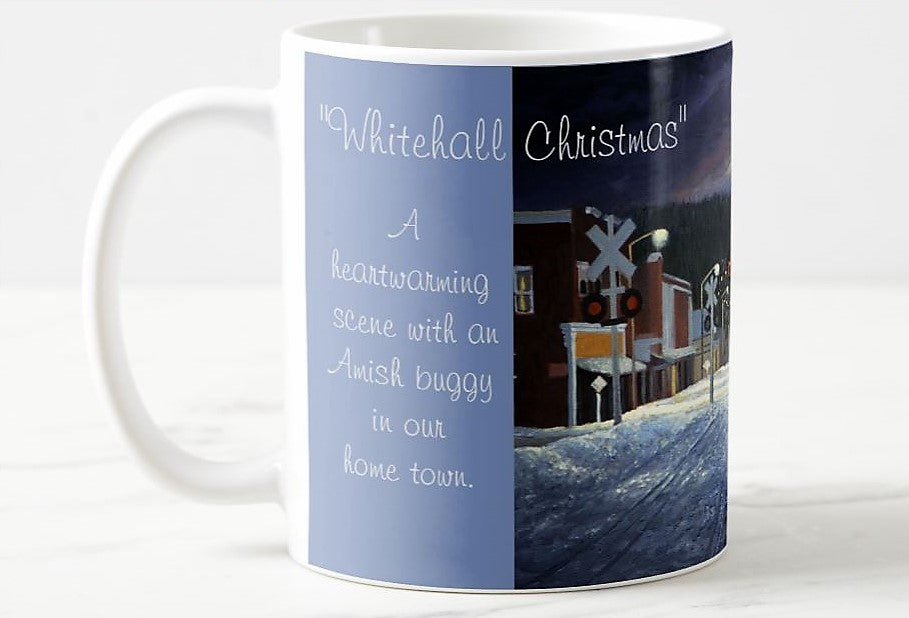 Coffee Mug Whitehall Christmas