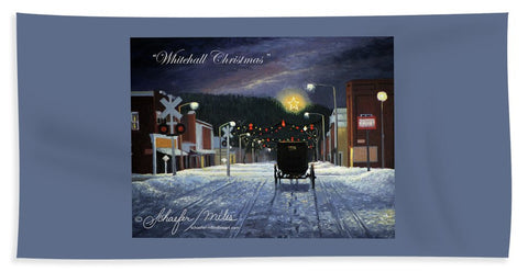 Whitehall Christmas - Beach Towel