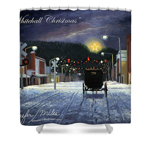 Whitehall Christmas - Shower Curtain