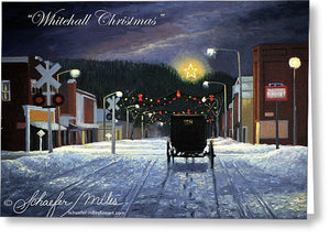 Whitehall Christmas - Greeting Card