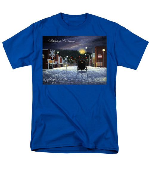 Whitehall Christmas - Men's T-Shirt  (Regular Fit)