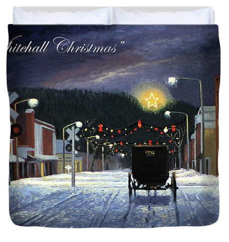 Whitehall Christmas - Duvet Cover