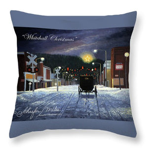 Whitehall Christmas - Throw Pillow