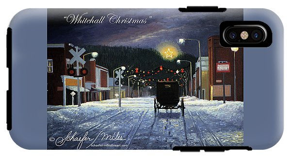 Whitehall Christmas - Phone Case