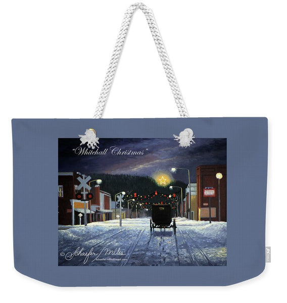 Whitehall Christmas - Weekender Tote Bag