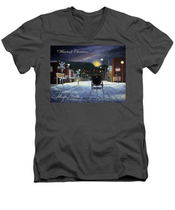 Whitehall Christmas - Men's V-Neck T-Shirt