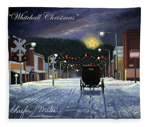 Whitehall Christmas - Blanket