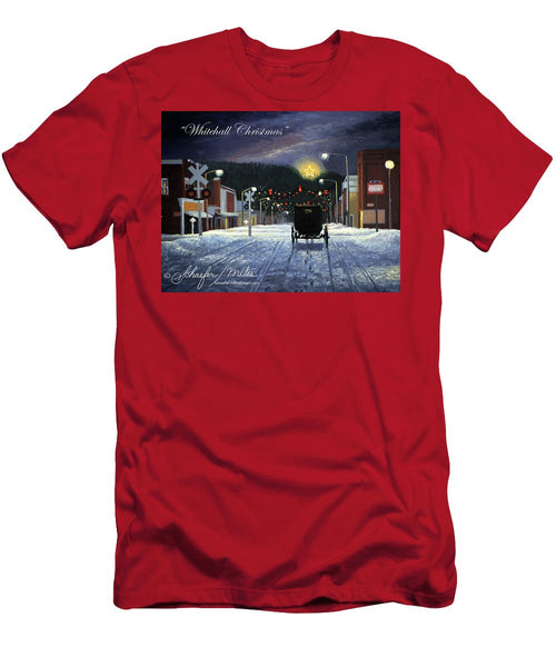 Whitehall Christmas - Men's T-Shirt (Athletic Fit)