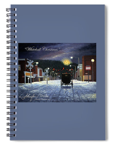 Whitehall Christmas - Spiral Notebook
