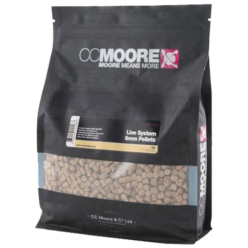 CC Moore Live System Pellets - JL Fishing Tackle