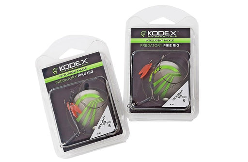 Kodex Predatory Pike Rigs - JL Fishing Tackle