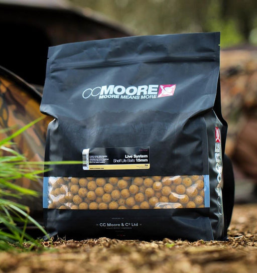 CC Moore Live System Shelf Life Baits Boilies - JL Fishing Tackle