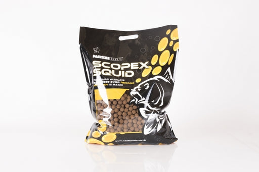 Nash Scopex Squid Stabilised Boilies 1kg - JL Fishing Tackle