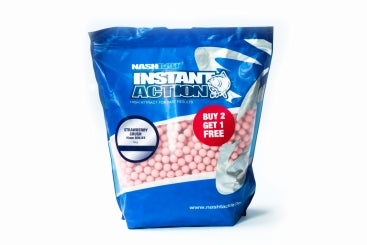 Nash Instant Action High Attact Bollies 200g (Buy 2 Get 1 Free) - JL Fishing Tackle