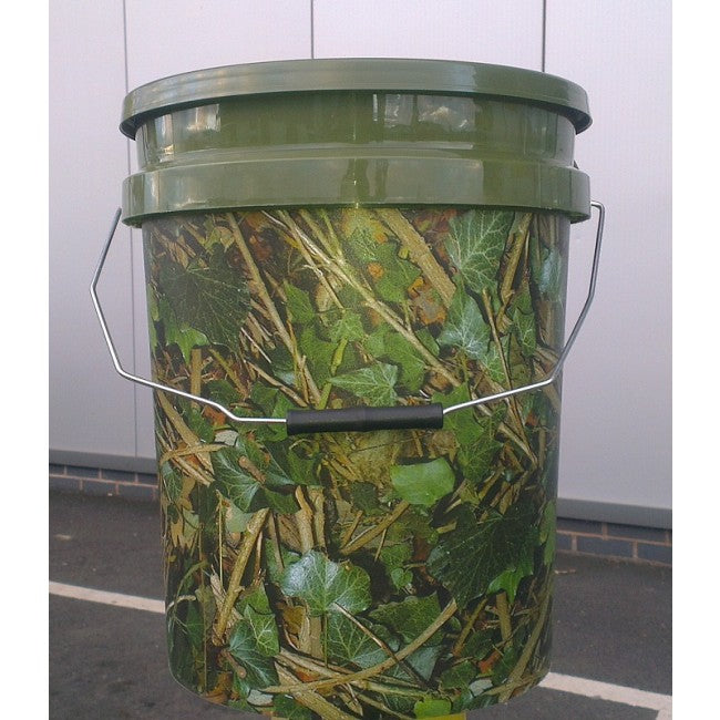 18L Camo Bait Bucket - JL Fishing Tackle