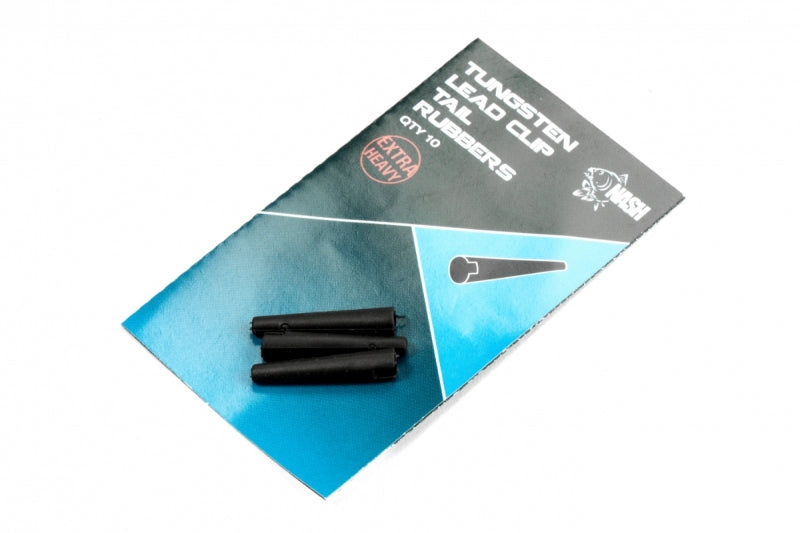 Nash Tungsten Lead Clip Tail Rubber - JL Fishing Tackle