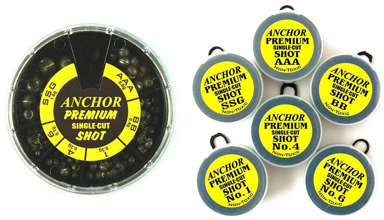 Anchor Premium Single-Cut Shot - JL Fishing Tackle