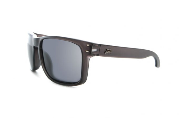 Fortis Bays Polarised Sunglasses - Smoke Lens - JL Fishing Tackle