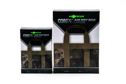 Korda Compac Air Dry Bags (3 & 6kg) - JL Fishing Tackle