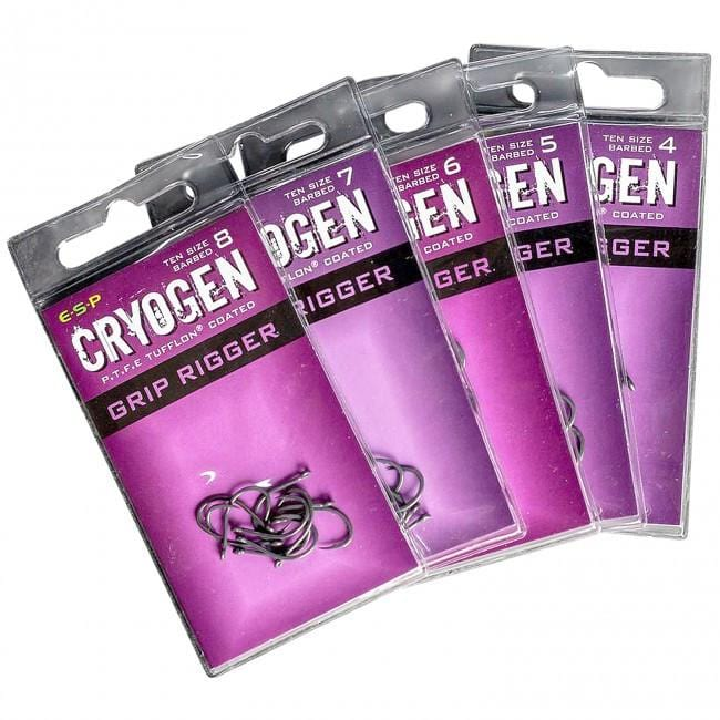 ESP Cryogen Grip Rigger Hooks - JL Fishing Tackle